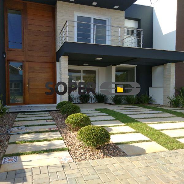 Casa em Condomínio 3 quarto(s)  no Campo Novo - Soper Imóveis