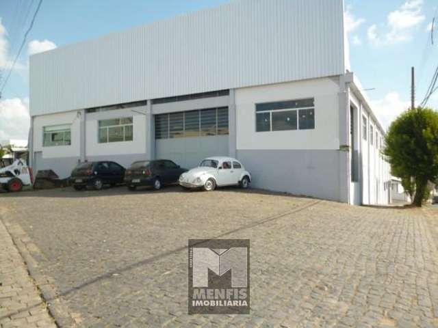 Barracão no Centro - Imóveis a venda em Lages e região