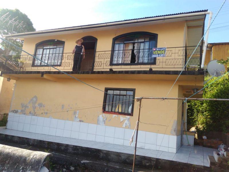 Casa 2 quartos  no Morro do Posto