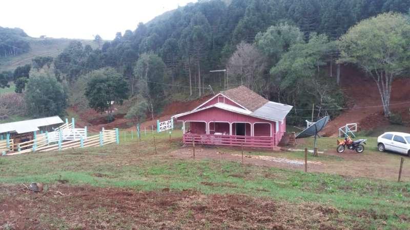 terreno rural no Nossa Senhora da Salete