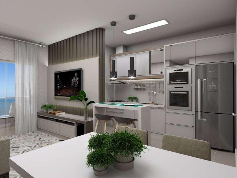 Apartamento 1 Dormitório,  1 Suíte  no Tabuleiro dos Oliveiras em Itapema